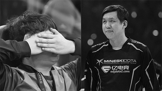mineski team serenity gugur dari the international 8