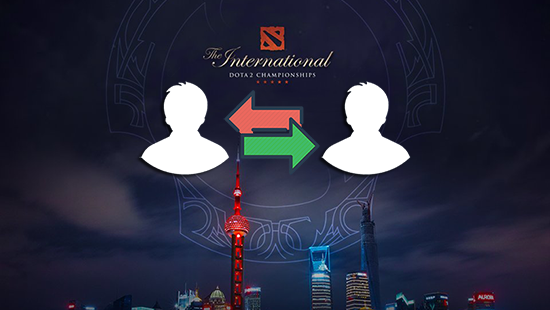rekap roster shuffle setelah the international 8