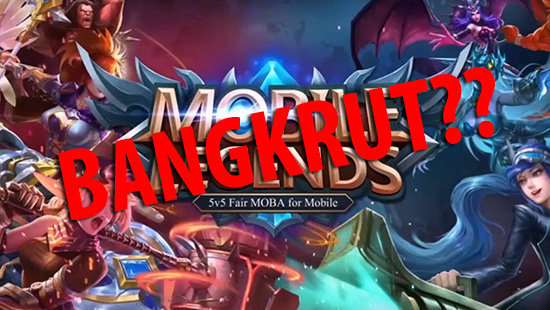 mobile legends bangkrut