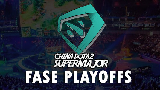 jadwal dan bagan pertandingan fase playoffs china dota2 supermajor