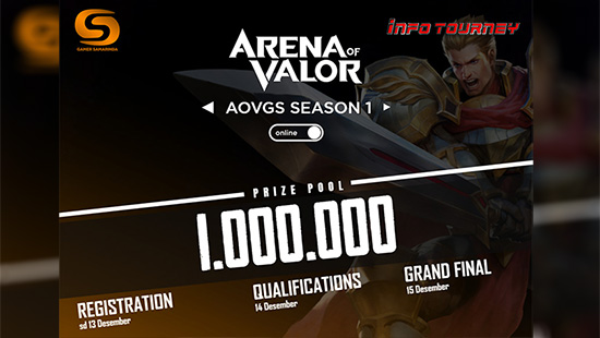 turnamen aov arena of valor desember 2019 gs season 1 logo