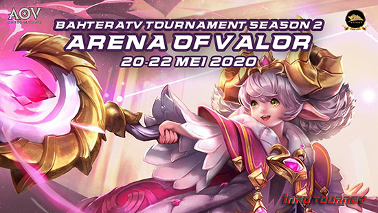 turnamen aov arena of valor mei 2020 bahteratv season 2 logo