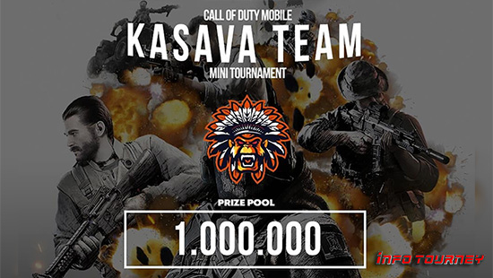 turnamen codm call of duty mobile februari 2020 kasava team logo