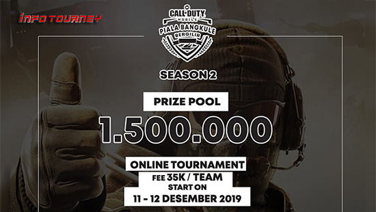 turnamen codm call of duty mobile desember 2019 pbb season 2 logo