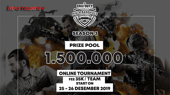 turnamen codm call of duty mobile desember 2019 pbb season 3 logo
