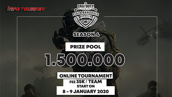 turnamen codm call of duty mobile januari 2020 pbb season 4 logo
