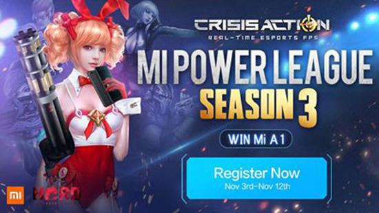 Tournament Crisis Action - Mi Power League S3