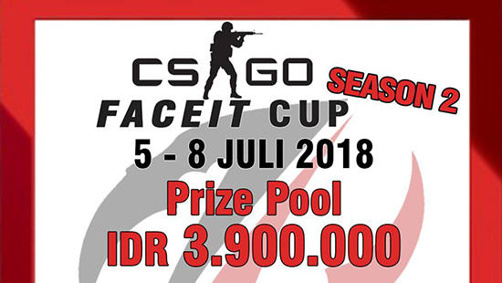 turnamen csgo counter strike global offensive faceit cup season 2 juli 2018 logo