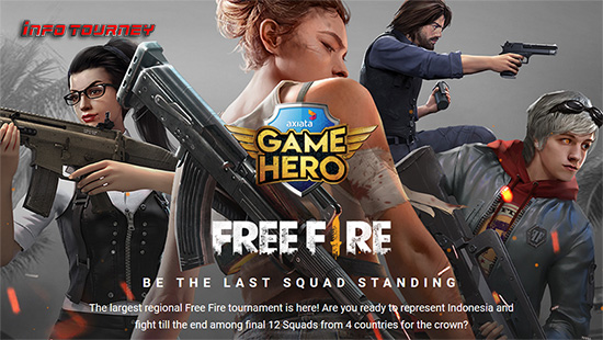 turnamen ff free fire september 2019 axiata game hero logo