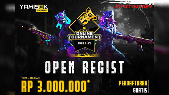 turnamen ff free fire januari 2020 yamisok tournament logo