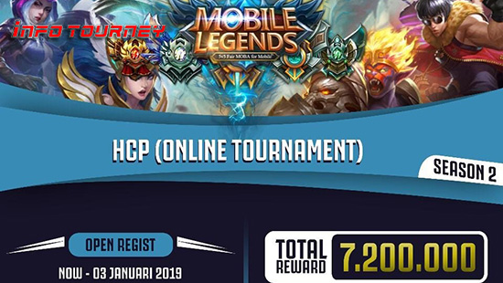 turnamen ml mole mobile legends hcp season 2 januari 2019 logo