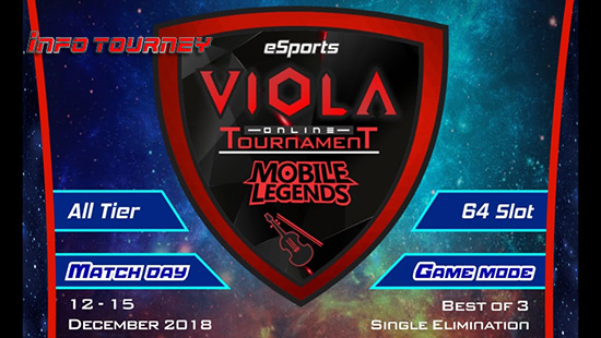 turnamen ml mole mobile legends viola esports season 11 desember 2018 logo