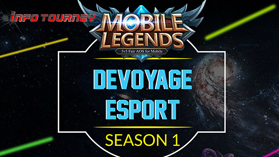 turnamen ml mole mobile legends devoyage esport season 1 desember 2018 logo