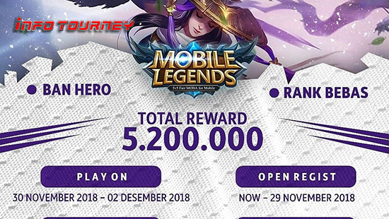 turnamen ml mole mobile legends wasd season 17 november 2018 logo