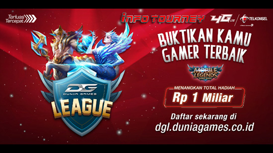 turnamen ml mole mobile legends dunia games league oktober 2018 logo