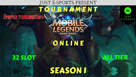 turnamen ml mole mobile legends just esports season 1 november 2018 logo