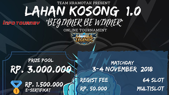 turnamen ml mole mobile legends lahan kosong 1 november 2018 logo