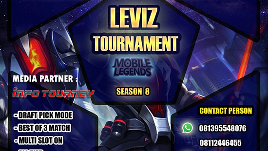 turnamen ml mole mobile legends leviz tournament season 8 oktober 2018 logo