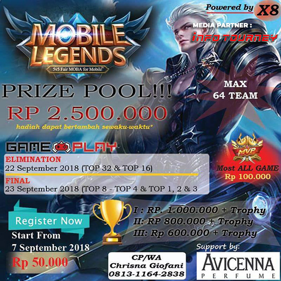 turnamen mobile legends wolfgang online tournament september 2018 poster