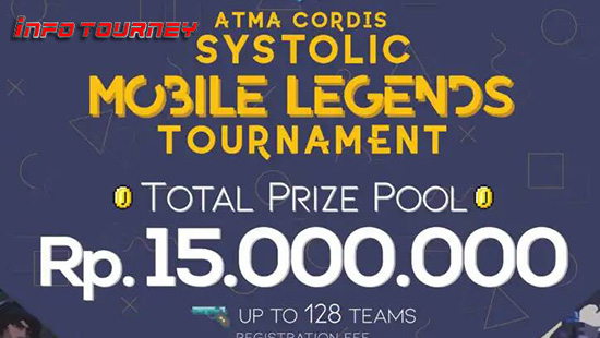 turnamen ml mole mobile legends atma cordis systolic maret 2019 logo