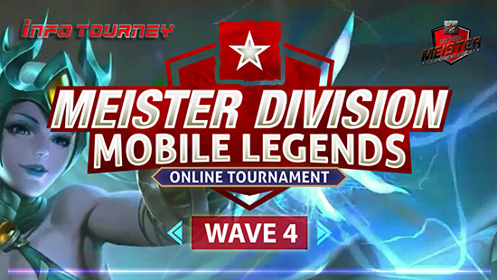 turnamen ml mole mobile legends meister division mobile legends wave 4 februari 2019 logo