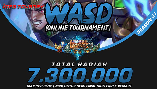 turnamen ml mole mobile legends wasd season 21 februari 2019 logo