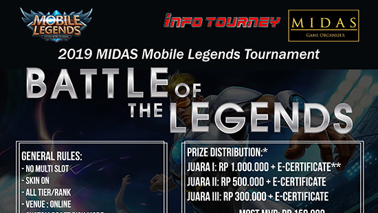 turnamen ml mole mobile legends battle of the legends januari 2019 logo
