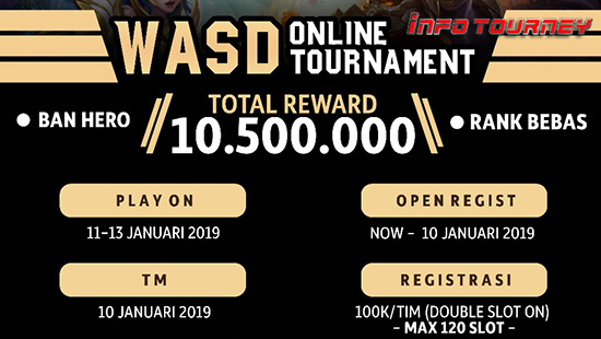 turnamen ml mole mobile legends wasd season 19 januari 2019 logo