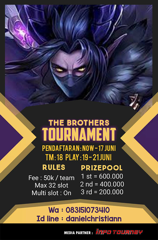 Turnamen Mobile Legends - The Brothers