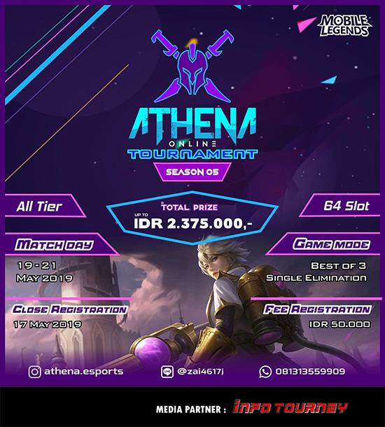 Turnamen Mobile Legends - ATHENA SEASON 5