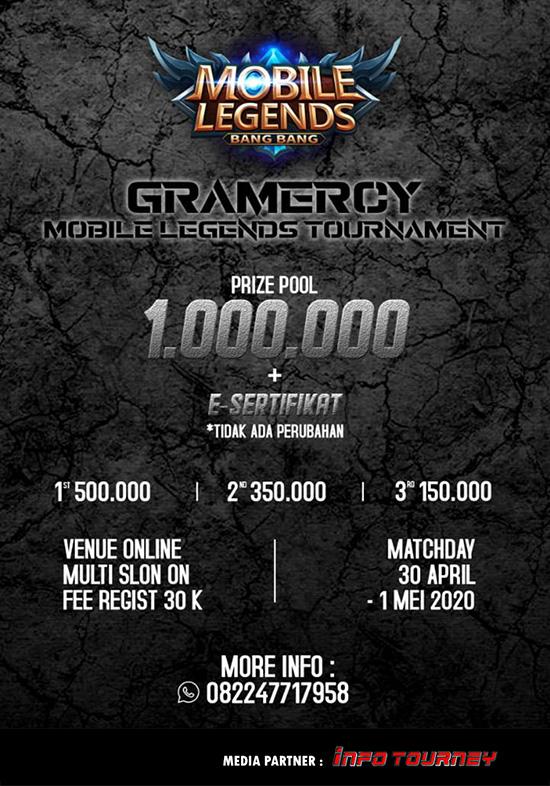 Turnamen Mobile Legends - GRAMERCY SEASON 1