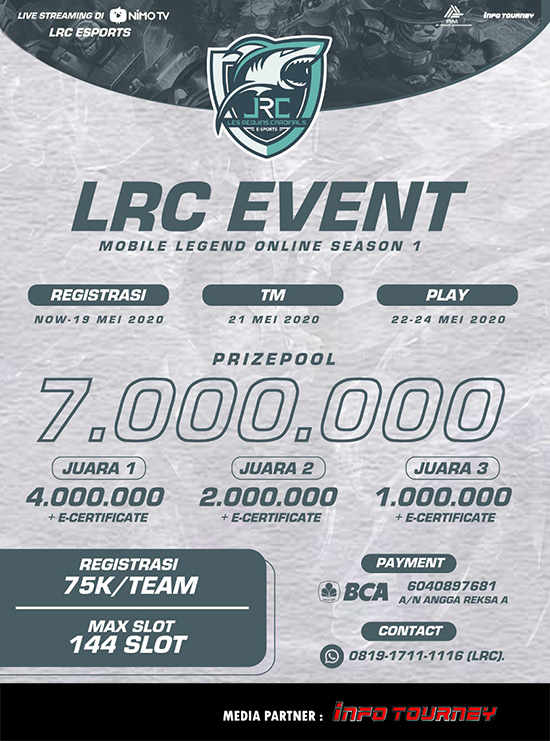 Turnamen Mobile Legends - LRC ESPORTS SEASON 1