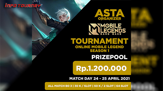 turnamen ml mlbb mole mobile legends april 2021 asta organizer season 1 logo 1
