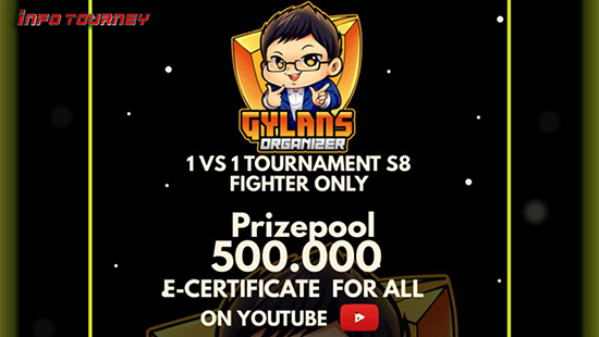 turnamen ml mlbb mole mobile legends april 2021 gylans 1vs1 season 8 logo
