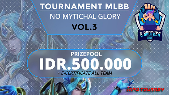turnamen ml mlbb mole mobile legends april 2021 s brother esport season 3 logo