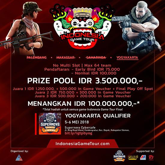 turnamen point blank  indonesia game tour yogyakarta
