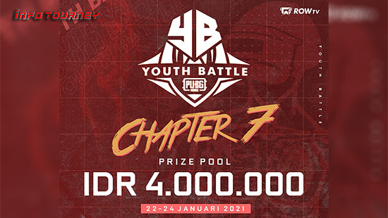 turnamen pubgm pubgmobile januari 2021 youth battle chapter 7 logo