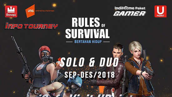 turnamen ros rules of survival icafe visit upoint september november desember 2018 logo